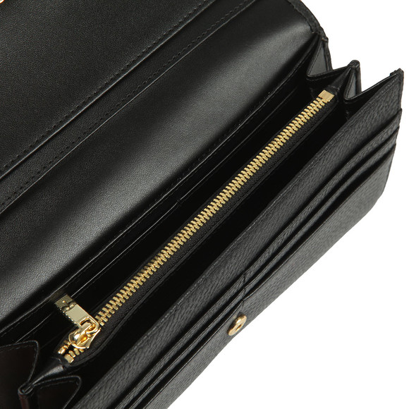 Ted Baker Womens Black Selma Statement Letters Matinee Purse main image