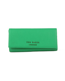 Ted Baker Womens Green Selma Statement Letters Matinee Purse