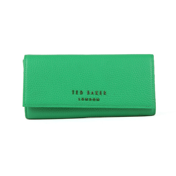 Ted Baker Womens Green Selma Statement Letters Matinee Purse main image