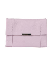 Ted Baker Womens Purple Clarria Bow Detail Soft Xbody Bag
