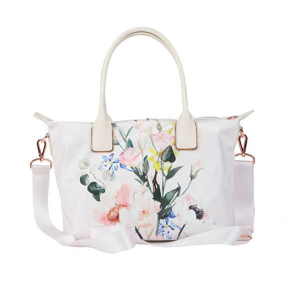 Ted Baker Womens Pink Eediie Elegant Small Nylon Tote main image