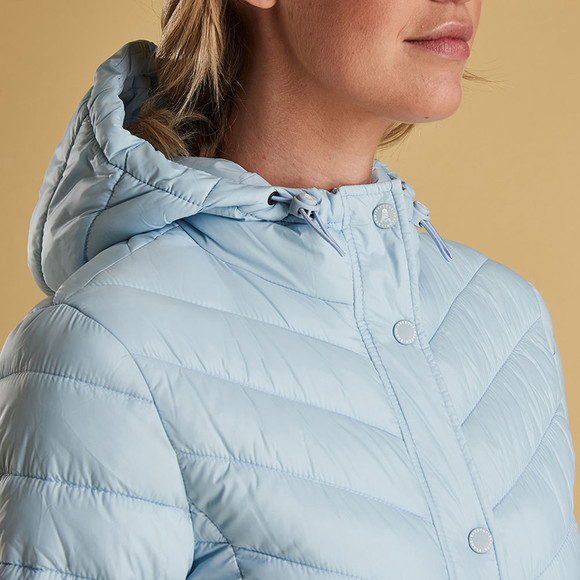 Barbour Lifestyle Womens Blue Isobath Quilted Jacket main image