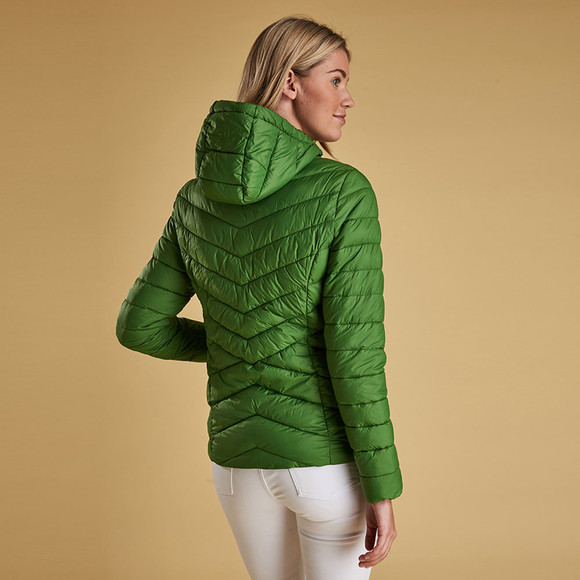 Barbour Lifestyle Womens Green Isobath Quilted Jacket main image