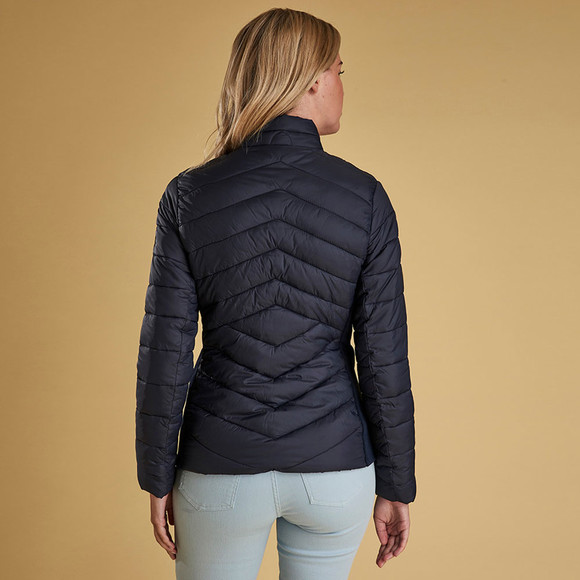 Barbour Lifestyle Womens Blue Longshore Quilted Jacket main image