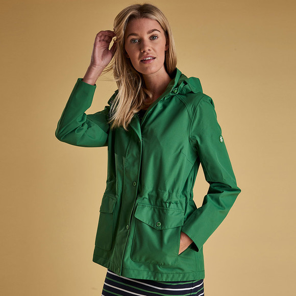Barbour Lifestyle Womens Blue Backshore Jacket main image