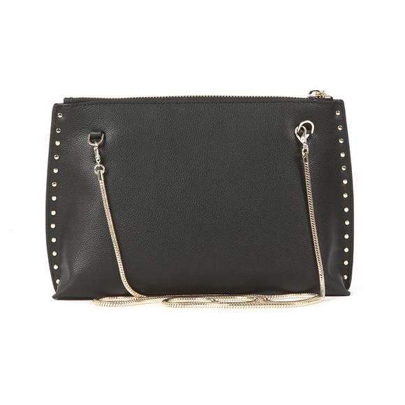 Ted Baker Womens Black Tesssa Chain Tassel Evening Bag main image