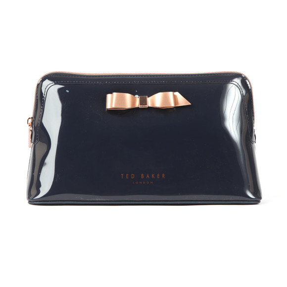 Ted Baker Womens Blue Caffara Bow Washbag main image