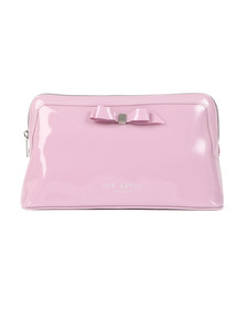 Ted Baker Womens Purple Caffara Bow Washbag