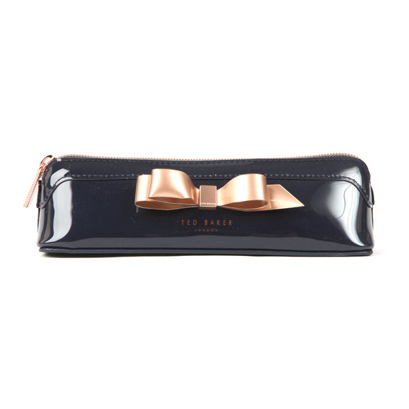Ted Baker Womens Blue Casella Bow Pencil Case main image