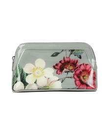 Ted Baker Womens Grey Jannar Oracle Make Up Bag
