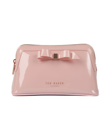 Ted Baker Womens Pink Cahira Bow Make Up Bag