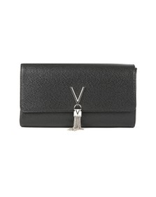 Valentino by Mario Womens Black Divina Clutch