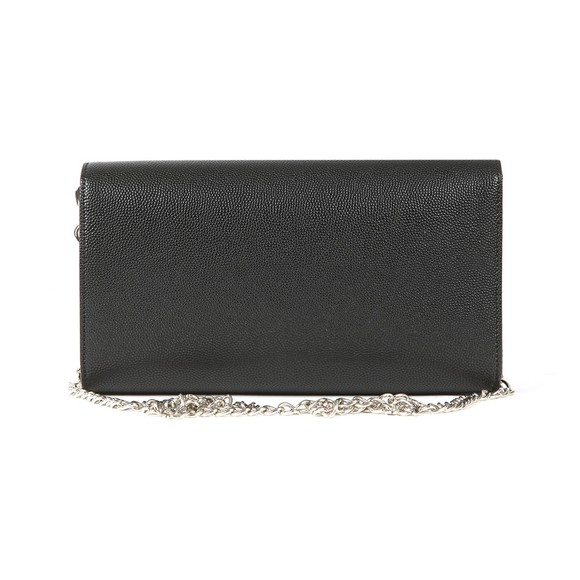 Valentino by Mario Womens Black Divina Clutch main image