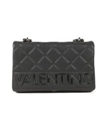Valentino by Mario Womens Black Licia Satchel