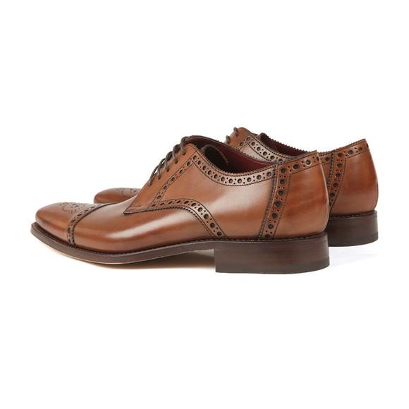 Loake Mens Brown Foley CD Semi-Brogue Shoe main image