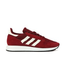 adidas Originals Mens Red Forest Grove Trainer
