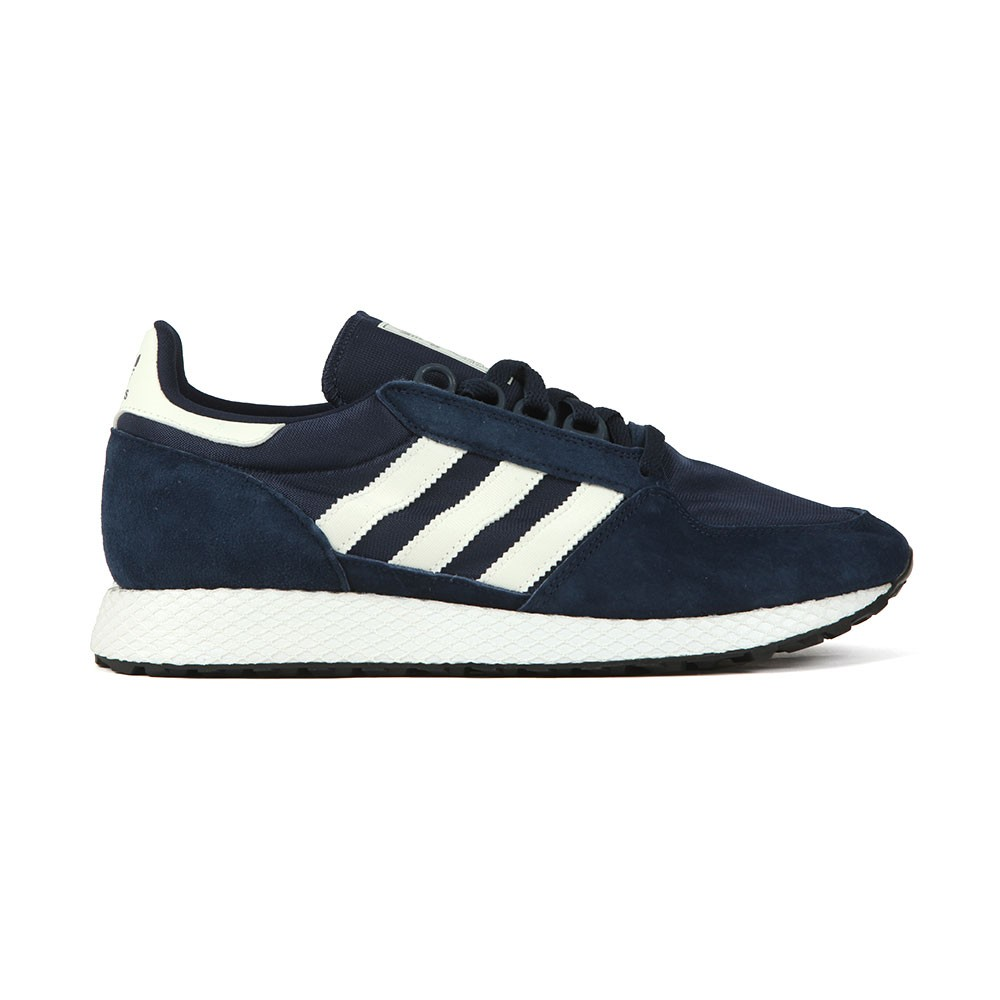 adidas Originals Mens Blue Forest Grove Trainer 79de98e08