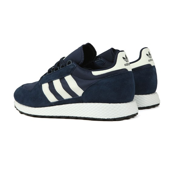 adidas Originals Mens Blue Forest Grove Trainer main image