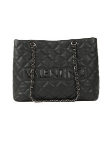 Valentino by Mario Womens Black Licia Large Tote
