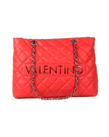 Valentino by Mario Womens Red Licia Large Tote