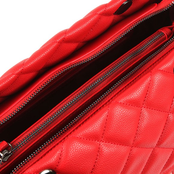 Valentino by Mario Womens Red Licia Large Tote main image