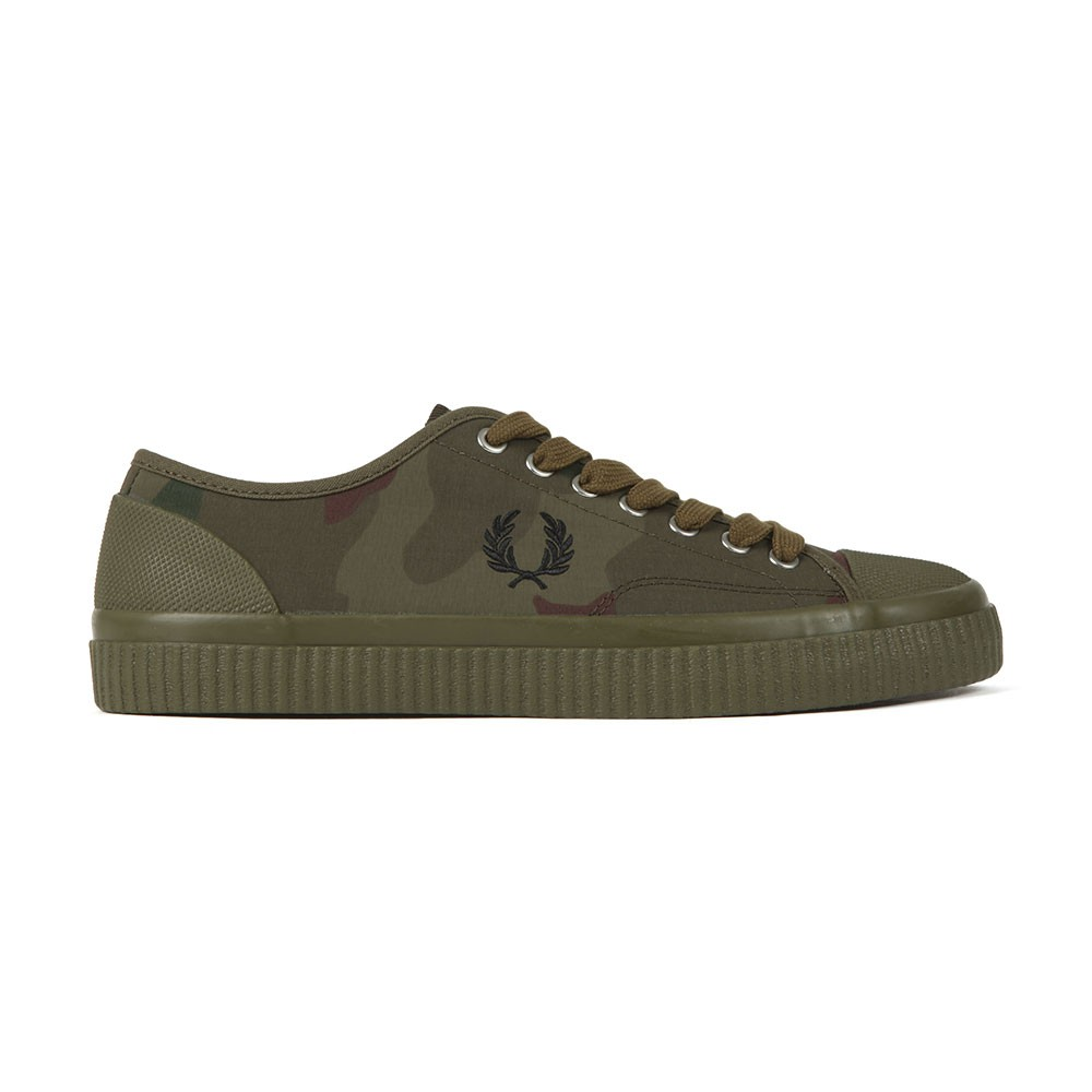 Camouflage Hughes Low Trainer