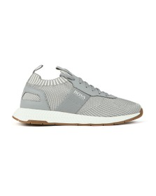 BOSS Mens Grey Athleisure Titanium Runner