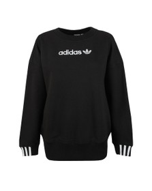 adidas Originals Womens Black Coeeze Sweat