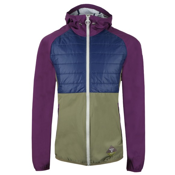 Barbour Beacon Mens Purple Gable Jacket main image