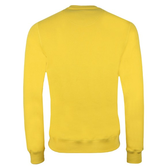 Barbour Beacon Mens Yellow Stitch Crew Sweat main image