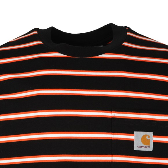 Carhartt Mens Black Houston Pocket Tee main image