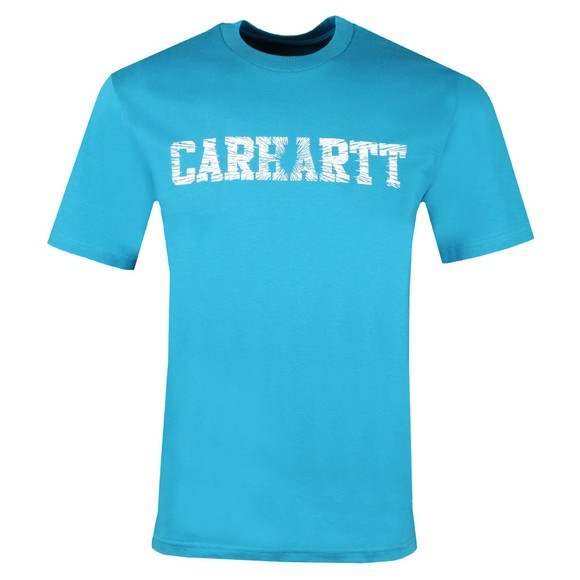 Carhartt WIP Mens Blue Speedlines T-Shirt main image