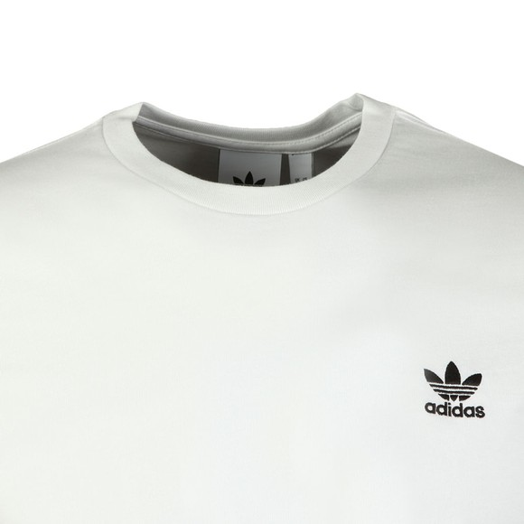adidas Originals Mens White Essential T-Shirt main image
