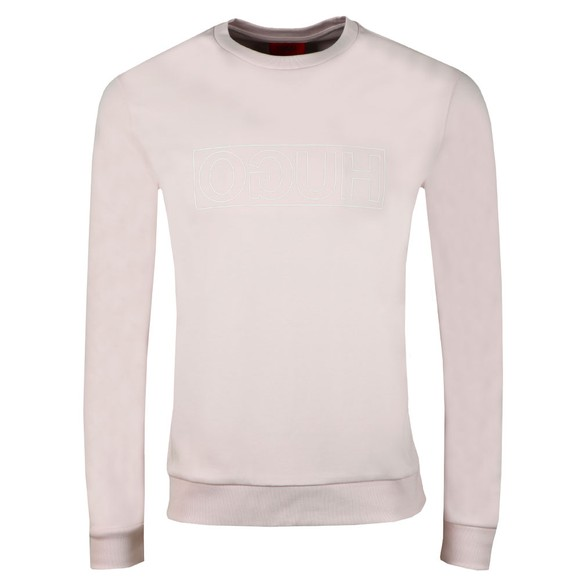 HUGO Mens Pink Dicago Sweatshirt main image