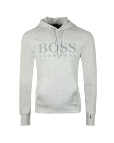 BOSS Mens Grey Athleisure Soody Hoody