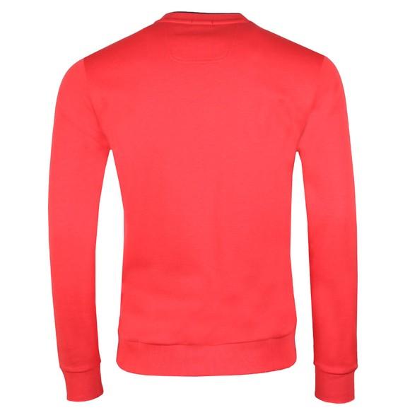 BOSS Mens Red Athleisure Salbo Crew Sweatshirt main image