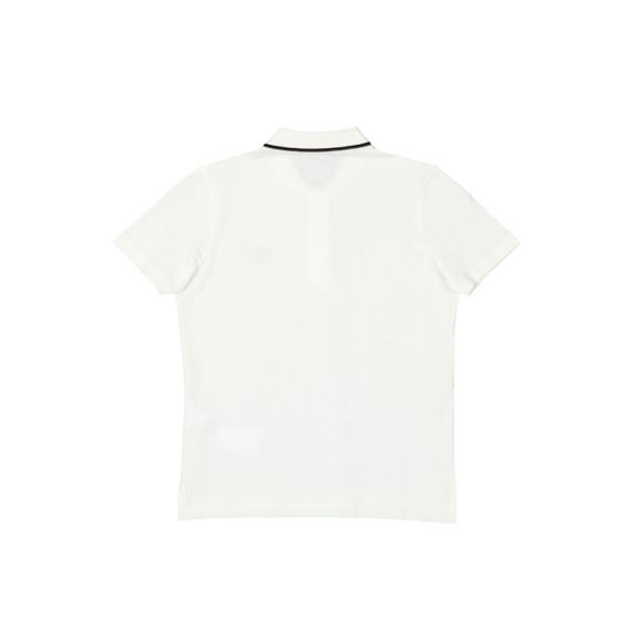 C.P. Company Undersixteen Boys White Tipped Polo Shirt main image