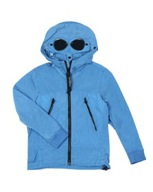 C.P. Company Undersixteen Boys Blue Chrome Goggle Jacket