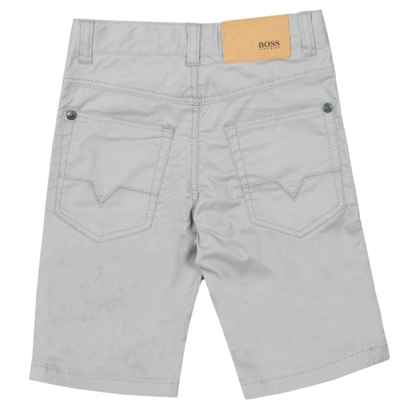 BOSS Boys Grey J24598 Chino Short