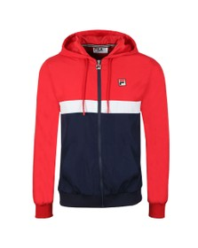 Fila Mens Multicoloured Ambrose Colour Block Jacket