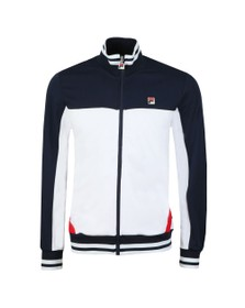 Fila Mens White Tiebreaker Track Top