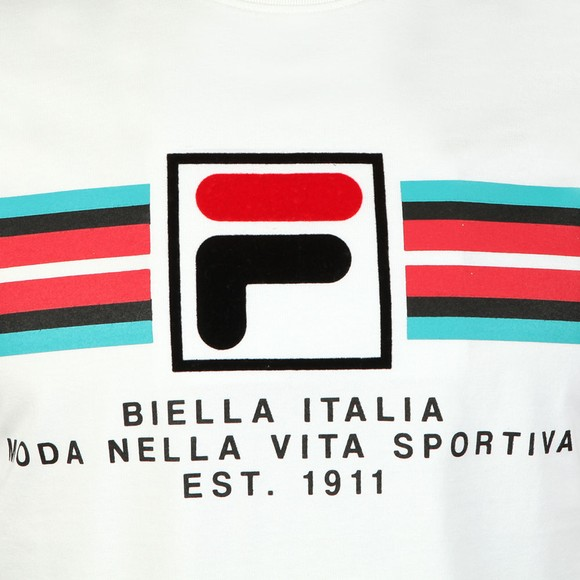 Fila Mens White F Box Graphic Tee main image