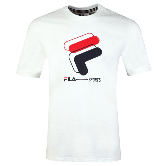 Fila Mens White Archive Graphic Tee main image