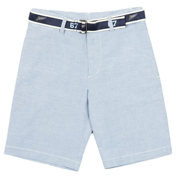 Polo Ralph Lauren Boys Blue Belted Chino Short