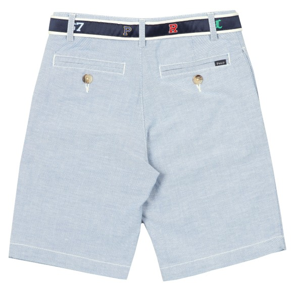 Polo Ralph Lauren Boys Blue Belted Chino Short main image
