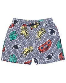 Kenzo Kids Boys Multicoloured Field Wax Kenzo Swim Short
