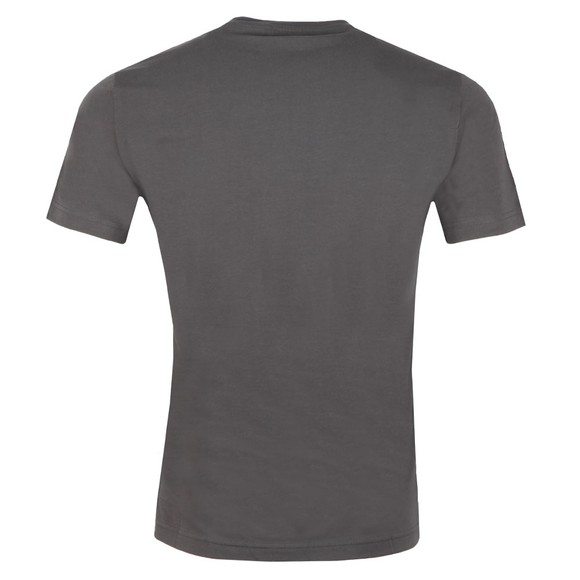 EA7 Emporio Armani Mens Grey Shoulder Detail T Shirt main image