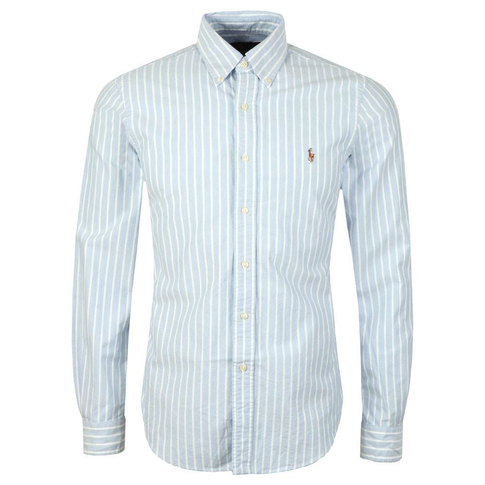 57af50e3c1e Polo Ralph Lauren Slim Fit BD Stripe Oxford Shirt