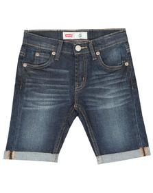Levi's Boys Blue Bermuda 511 Slim Denim Short