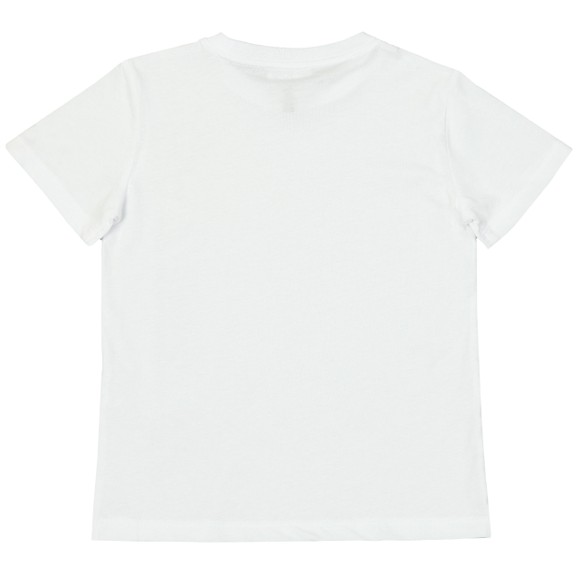 EA7 Emporio Armani Boys White Side Logo T Shirt main image